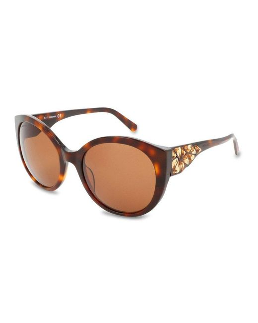 Sunglasses 0174 Swarovski en coloris Brown