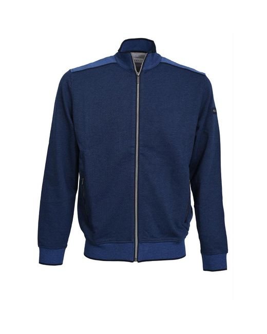 Bugatti Vest in het Blue voor heren