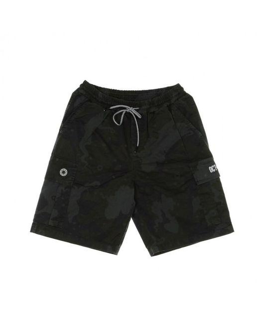 Liu Jo Pantalone Corto Cargo Jogger Shorts in Black für Herren
