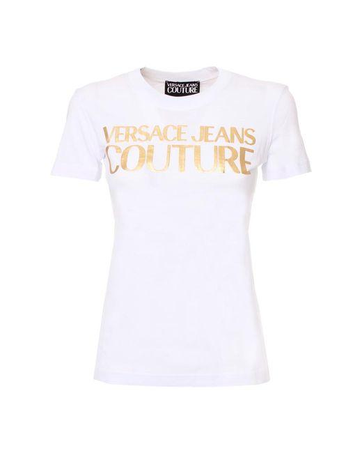 Versace T-shirt in het White