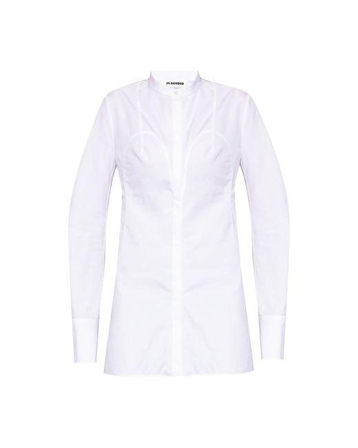 Jil Sander Shirt in het White