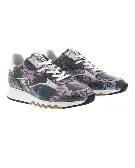 Dames sneakers Azul Floris Van Bommel de color Blue