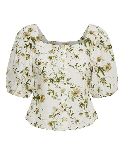 Part Two Inere Blouse in het White
