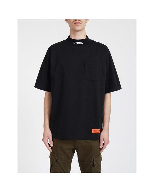 Heron Preston Camiseta in het Black voor heren