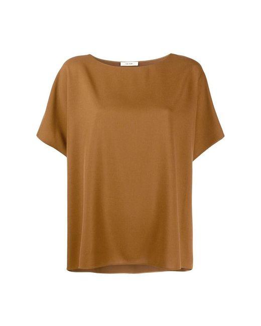 The Row Lylia Shirt in het Brown