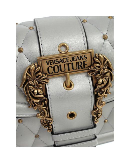 Versace Jeans Crossbody Bag W/buckle in het Gray