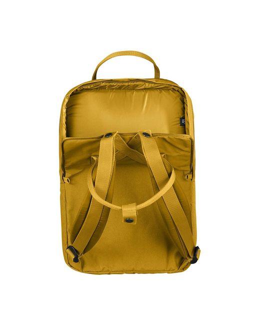 Backpack Fjallraven en coloris Yellow