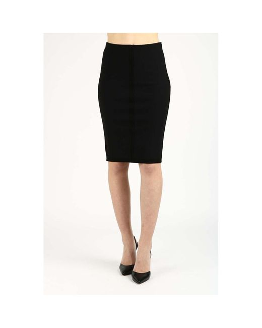 Skirt Negro Pinko de color Black