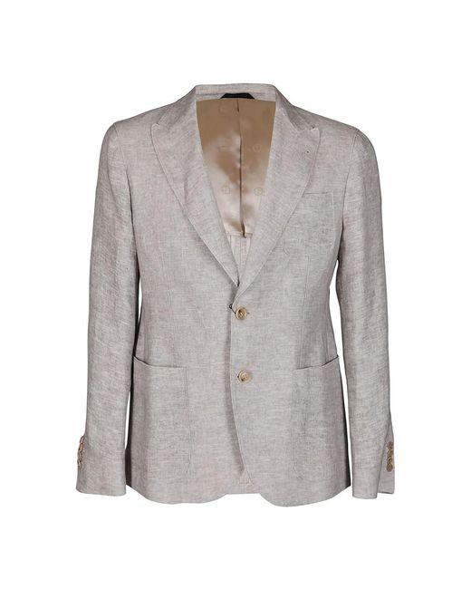 Giorgio Armani Jacket in het Gray voor heren
