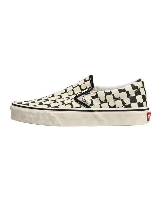 Classic Slip-On Shoes Vans en coloris Blanc - Lyst