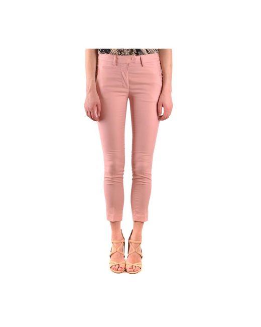 Trousers di Dondup in Pink