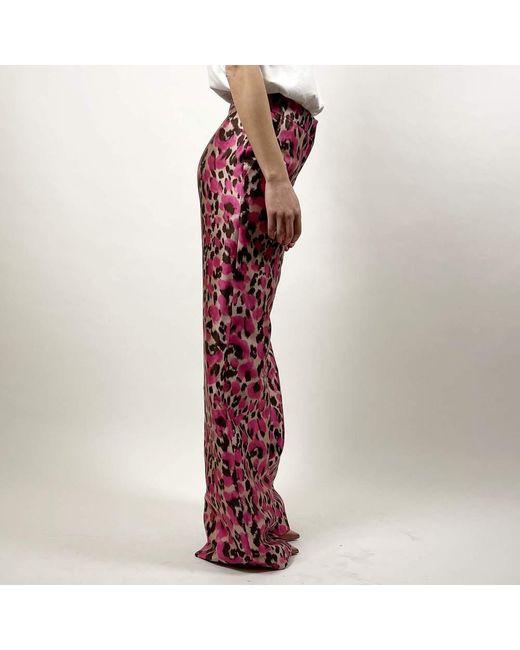 Pantalone Rosa Gianluca Capannolo de color Purple