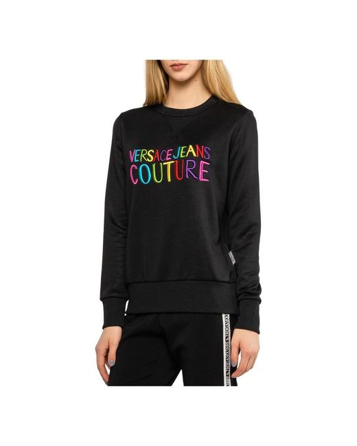 Versace Jeans Sweater in het Black