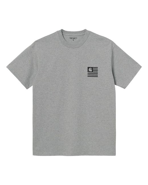 Wavy State T Shirt di Carhartt WIP in Gray da Uomo