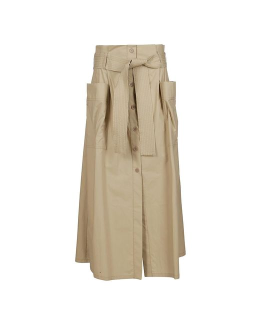 P.A.R.O.S.H. Skirt in het Natural