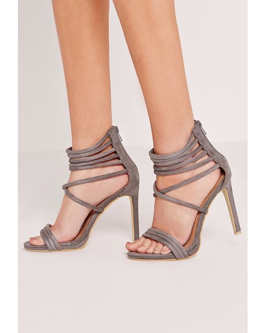 Ankle Cuff Heeled Shoes