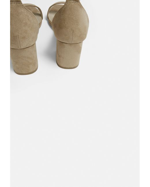 Missguided Nude Block Barely There Mid