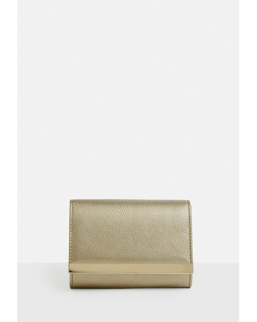 Missguided HOLOGRAPHIC MINI BAG - Clutch - metallic KqTug5dgye