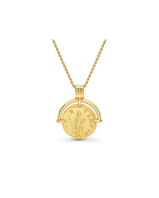 Missoma Metallic Lucy Williams X Solid Hinged Coin Necklace