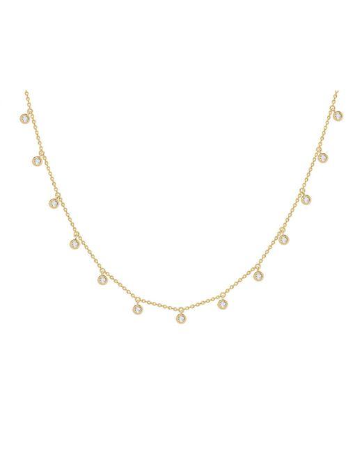 Missoma - Metallic Interstellar Drop Necklace - Lyst