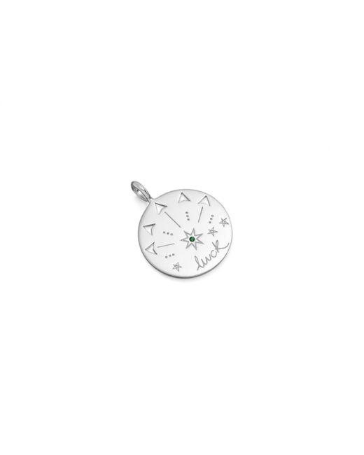 Missoma - Metallic Silver Luck Amulet Pendant - Lyst