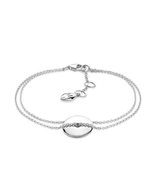 Missoma - Metallic Silver Large Halo Bracelet - Lyst