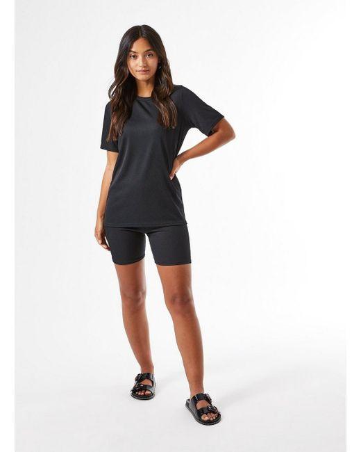 Miss Selfridge Petite Black Cycling Shorts