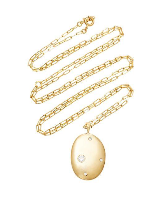 Cvc Stones - Metallic 18k Gold Diamond Necklace - Lyst
