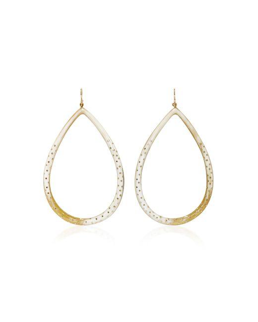 Ashley Pittman | Metallic Kambi Horn And Bronze Earrings | Lyst