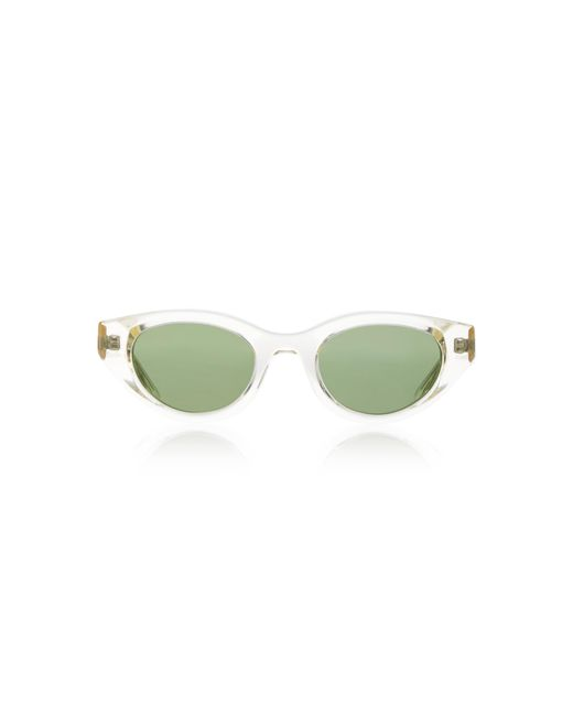 Thierry Lasry Green Acidity Cat-eye Acetate Sunglasses