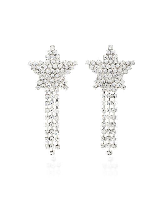 Jennifer Behr Metallic Shooting Star Crystal Earrings