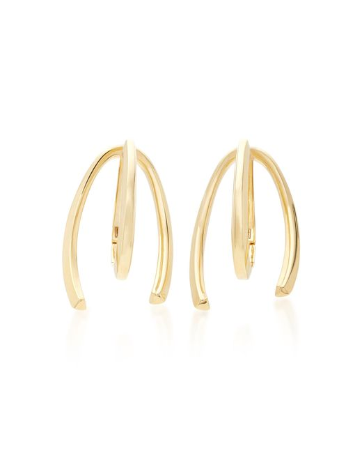 Bea Bongiasca - Metallic Honeysuckle 9k Gold Long Earrings - Lyst