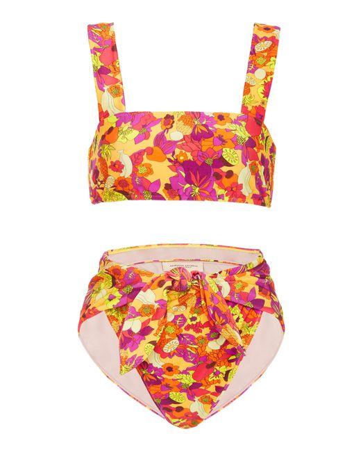 Adriana Degreas - Multicolor Fruits Print High Leg Bikini - Lyst