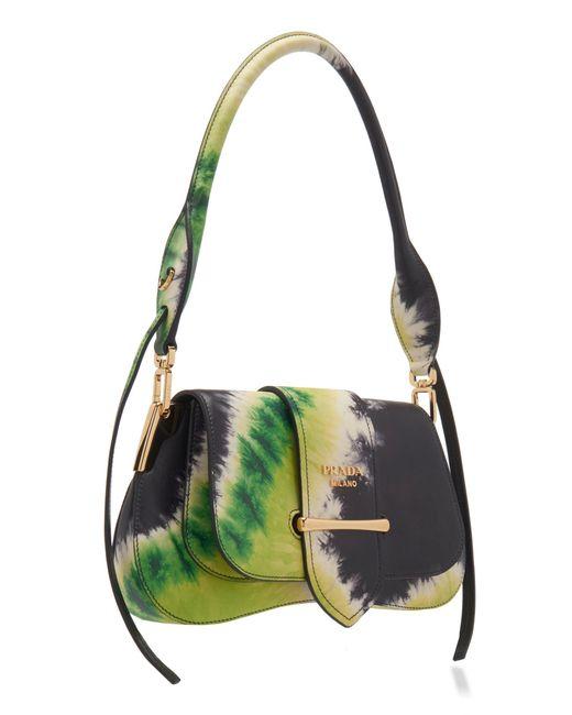 dfe19737 Women's Pattina Tie-dye Leather Shoulder Bag