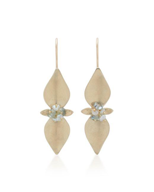 Annette Ferdinandsen - Metallic Mint 14k Gold And Pearl Drop Earrings - Lyst