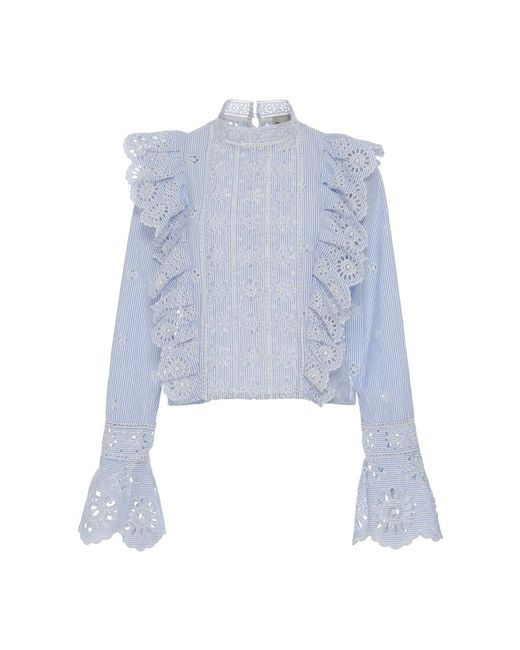 Sea | Multicolor Exploded Eyelet Ruffle Top | Lyst