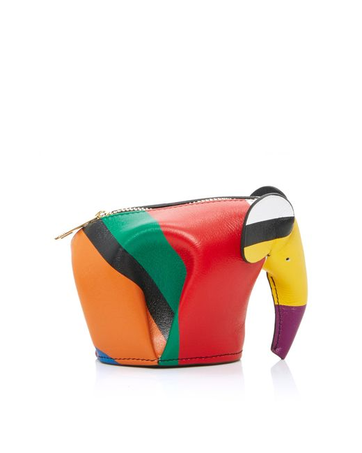 Loewe | Multicolor Elephant Coin Purse | Lyst