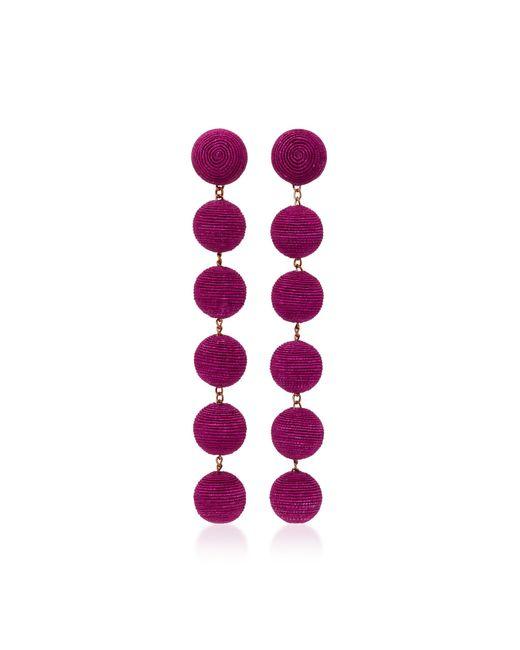 Rebecca de Ravenel   Purple Six Drop Skinny Earrings   Lyst