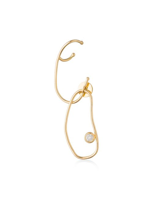 Ana Khouri - Metallic Single Grace Earring - Lyst