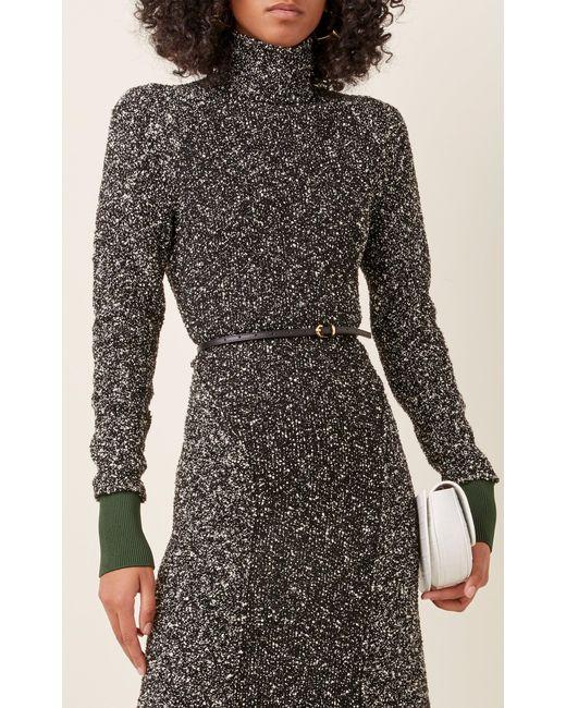Maison Boinet Black Leather Waist Belt