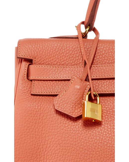 Heritage auctions special collection Hermes 35cm Rose Tea Clemence ...