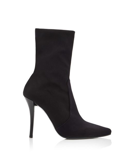Stuart Weitzman - Black Hifi Paneled Stretch Ankle Boots - Lyst