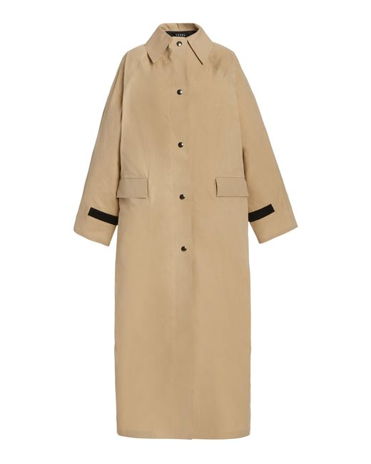 Kassl Natural Original Waxed Cotton Coat