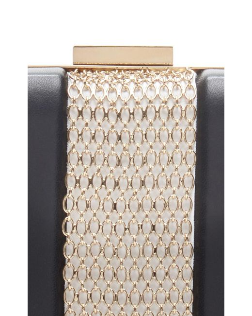 Chain Embellished Leather Box Clutch Lanvin woSNc7kpA