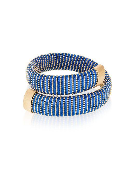Carolina Bucci - Blue Cobalt Caro Gold-plated Bracelet - Lyst