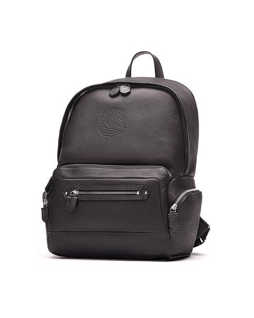 Ghurka   Black Unisex Leather Backpack   Lyst