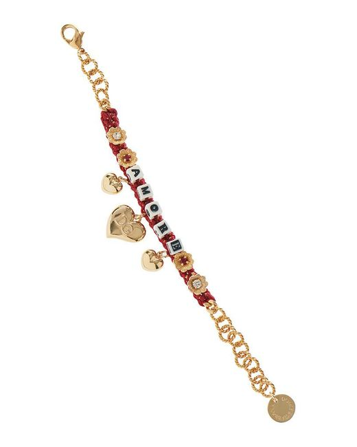 Dolce & Gabbana | Red Dice Bracelet | Lyst