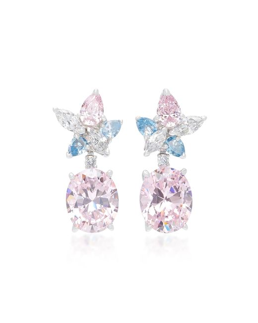 Anabela Chan - Pink Exclusive Blush Lily Earrings - Lyst