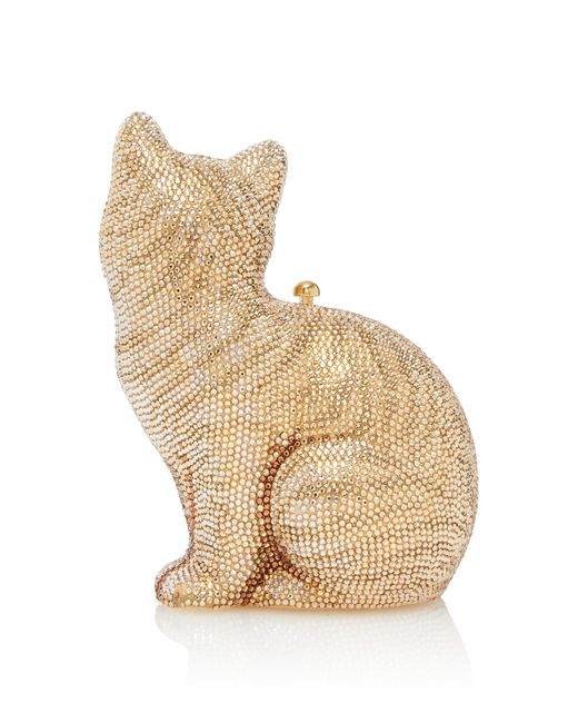 Judith Leiber Morris Cat Clutch ypL0hl