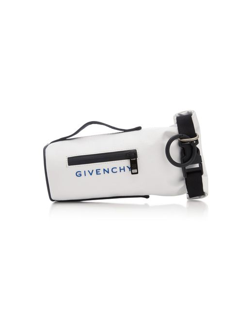 Givenchy - White Jaw Faux Leather Mini Bag for Men - Lyst